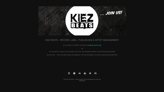 thegoodone Kunde KIEZ BEATS music Label